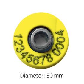 Produktfoto: Combi E30 Pluss gjenbrukbart elektronisk øremerke