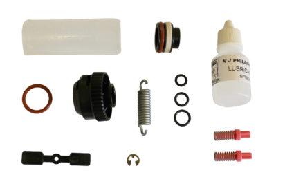 Produktfoto: Reservedelssett Phillips 20 ml automatisk doseringssprøyte med ryggbeholder
