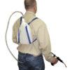 Produktfoto: Mann med ryggbeholder Phillips 20 ml automatisk doseringssprøyte