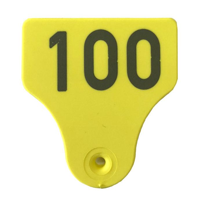 Produktfoto: Combi 3000 Små gul tappdel for fisk