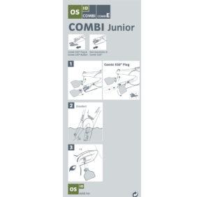 Foto: Påsettingsanvisning Combi Junior tang