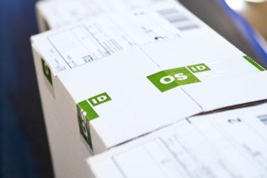 Foto: Spore pakker fra OS ID på Min side