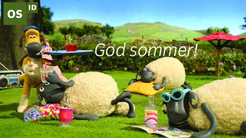 Illustrasjon: God sommer 2019