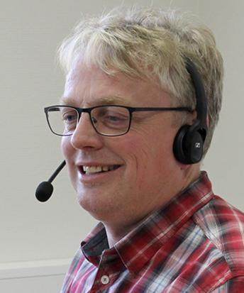 Foto: Bernt Olav Langbekkhei, medarbeider support aktivitetsmålingOlav Langbekkhei, medarbeider på OS IDs kundesenter