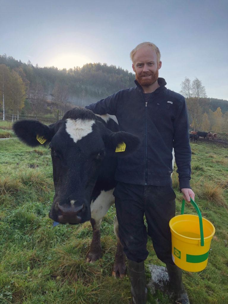 Foto: Ole Espen Honnemyr kjøpte årets SenseHub-anlegg nr. 100 i Norge