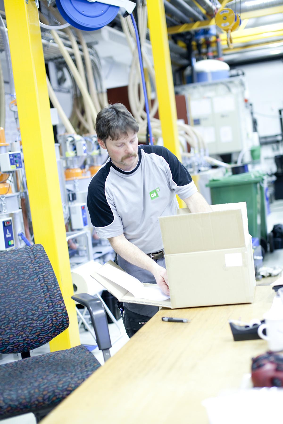 Foto: Ledig stilling produksjonsoperatør
