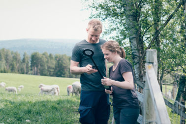Foto thumbnail: Effektiviser høstarbeidet med leseren HHR 3000 Pro